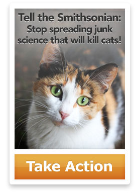 Tell the Smithsonian: Stop spreading junk science that will kill cats!